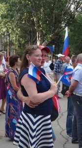 Фото празднования Дня флага России в Феодосии #2906