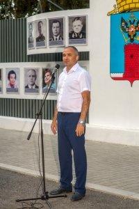 Фото торжественного открытия Доски почета в Феодосии #1078