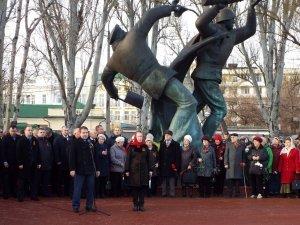 Фото митинга в честь Керченско-Феодосийского десанта в Феодосии #6451