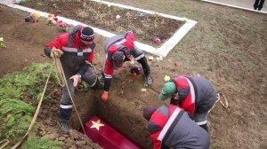 Фото траурной церемонии захоронения останков 35 бойцов Крымского фронта #6181