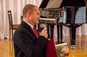Фото празднования юбилея директора первой музыкальной школы Феодосии #5853
