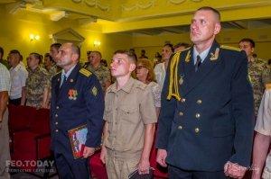 Собрание ко Дню пограничника в Феодосии #11541