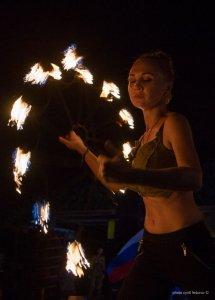 Фото фестиваля «Крым Fire-fest» в Коктебеле #2359