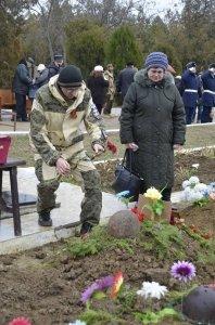 Фото траурной церемонии захоронения останков 35 бойцов Крымского фронта #6165