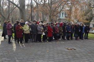 Фото митинга в честь Дня Героев Отечества в Феодосии #6220