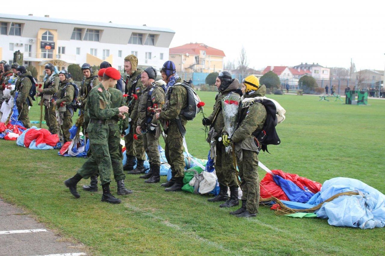 Фото торжественного открытия десантного батальона в Феодосии #5947