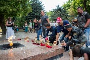 Ночные ВОЛКИ в Феодосии. Фото автомотопробега «Дорогами Победы» #2738