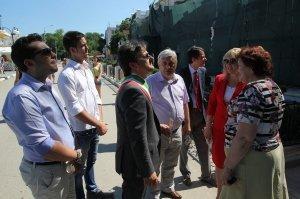 Фото итальянской делегации в Феодосии #203