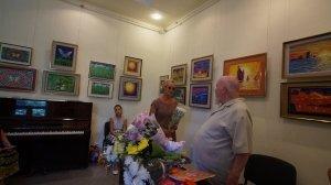 Фото открытия выставки МАЛЫШЕВА в музее ГРИНА #3403