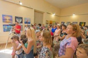 Фото выставки «Ангелы, к которым можно прикоснуться» в Феодосии #3875