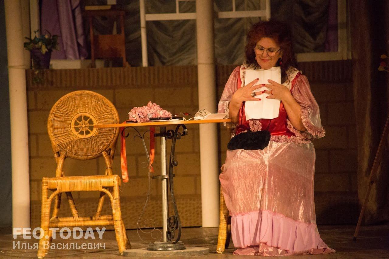 Спектакль «Немного нежности». Театр Беляновой, Феодосия #8683