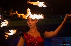 Фото фестиваля «Крым Fire-fest» в Коктебеле #2368