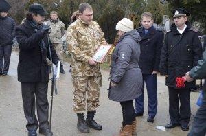 Фото траурной церемонии захоронения останков 35 бойцов Крымского фронта #6167