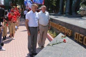 Фото митинга в честь 90-летия ДОСААФ России #2706