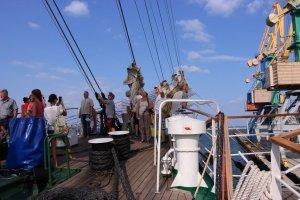 Фото парусного судна «Херсонес» в Феодосии #1199