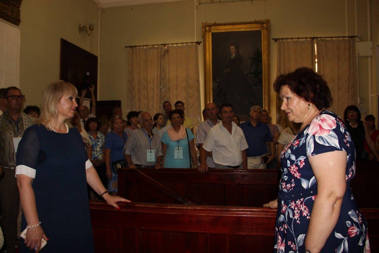 Фото почетных гостей на День города и юбилей Айвазовского в Феодосии #1125