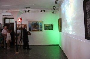 Фото открытия выставки «Море и любовь не терпят педантов» в Феодосии #1145