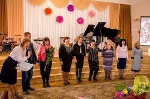 Фото празднования юбилея директора первой музыкальной школы Феодосии #5854
