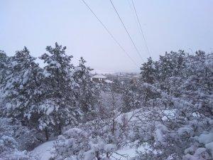 Заснеженная лысая гора #14706
