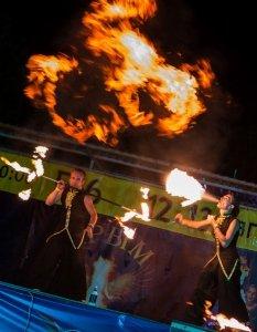 Фото фестиваля «Крым Fire-fest» в Коктебеле #2360