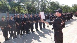 Фото принятия присяги в Краснокаменке #391