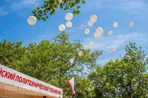 Феодосийский политех поздравил ветеранов с Победой #9706
