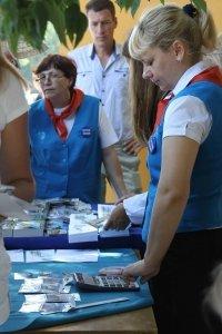 Фото спецгашения марки с Айвазовским в Феодосии #863
