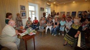 Фото открытия выставки МАЛЫШЕВА в музее ГРИНА #3420