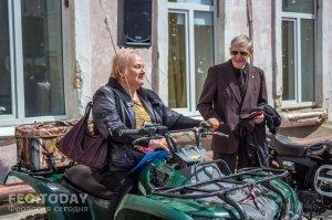 Открытие автомотошколы в Феодосии #8015