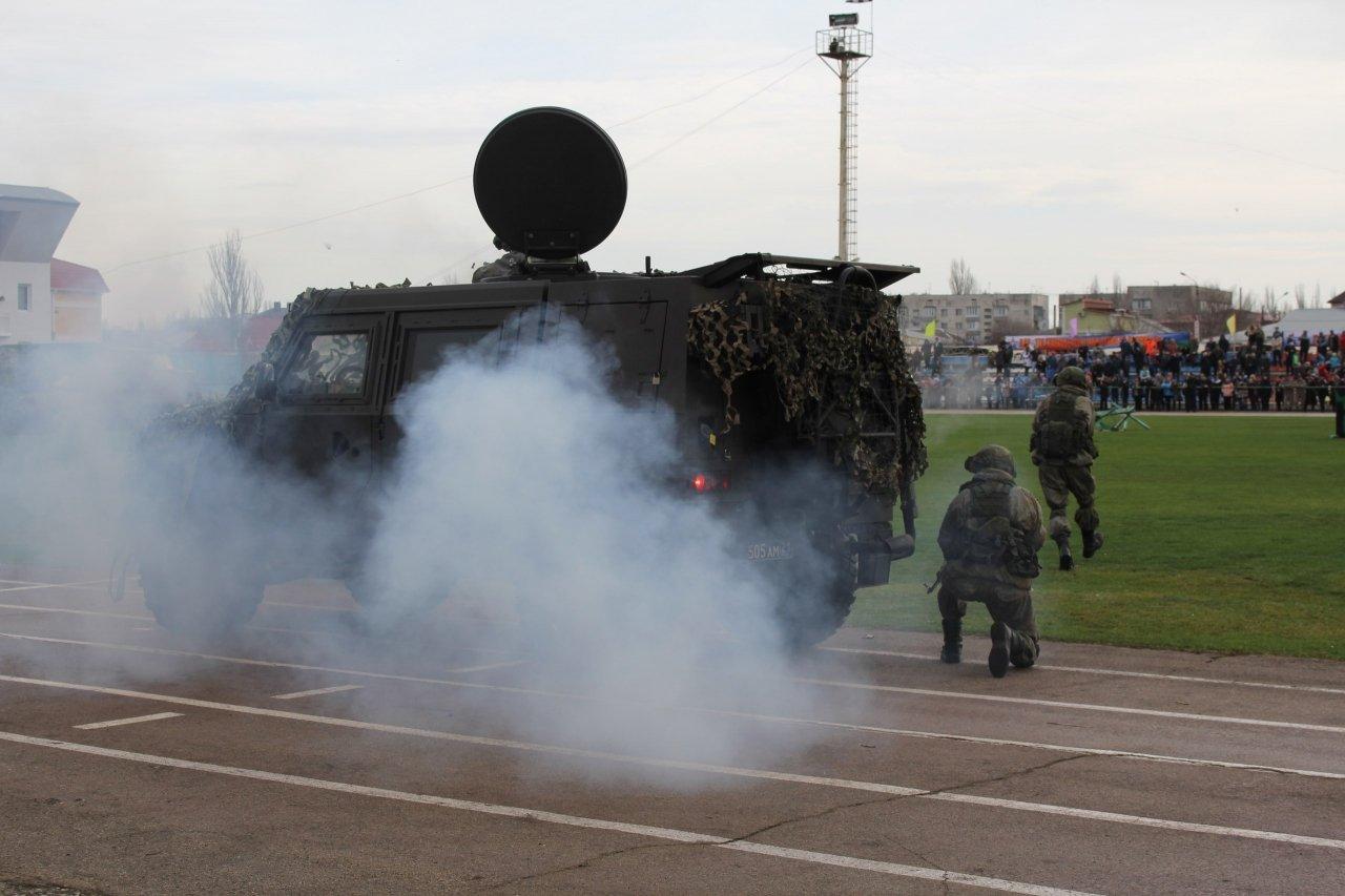 Фото торжественного открытия десантного батальона в Феодосии #5944