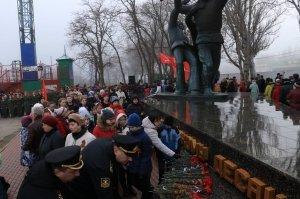 Фото митинга в память о Керченско-Феодосийском десанте #6475