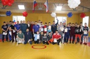 Открытый турнир по греко-римской борьбе в Феодосии #6850