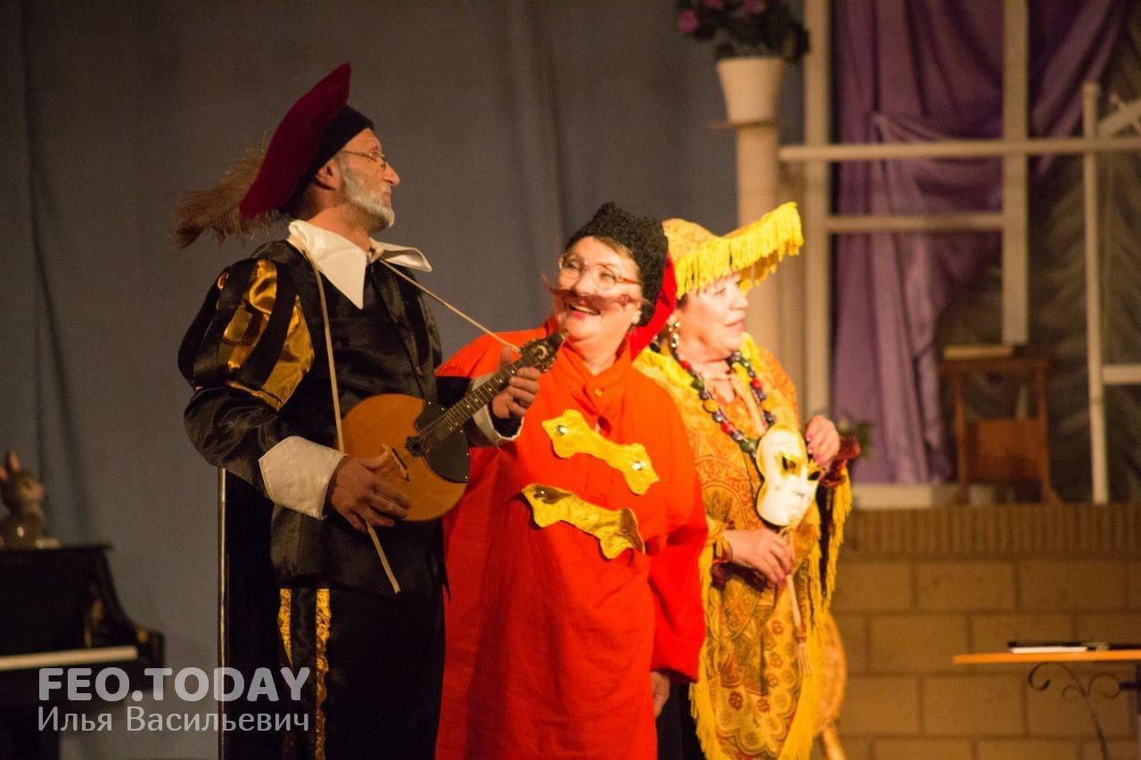 Спектакль «Немного нежности». Театр Беляновой, Феодосия #8680