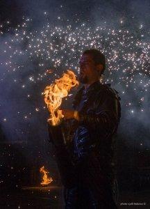 Фото фестиваля «Крым Fire-fest» в Коктебеле #2366