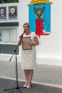 Фото торжественного открытия Доски почета в Феодосии #1070