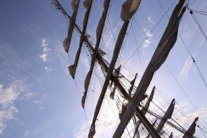Фото парусного судна «Херсонес» в Феодосии #1201
