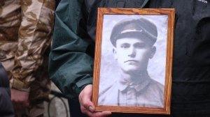 Фото траурной церемонии захоронения останков 35 бойцов Крымского фронта #6179