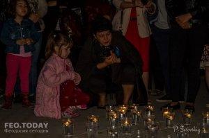 Акция «Зажги огонь в своем сердце» в Феодосии #10929