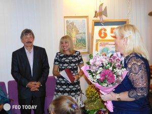 Фото юбилея художественной школы Айвазовского в Феодосии #5481