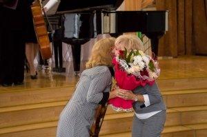 Фото празднования юбилея директора первой музыкальной школы Феодосии #5851