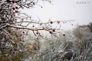Первый снег в Феодосии #14531