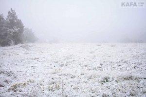 Первый снег в Феодосии #14534