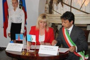 Фото итальянской делегации в Феодосии #213