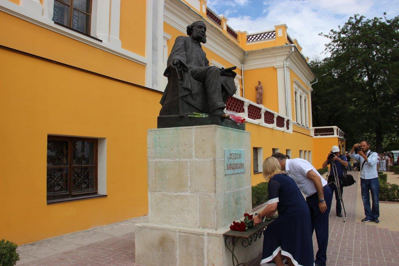 Фото почетных гостей на День города и юбилей Айвазовского в Феодосии #1134