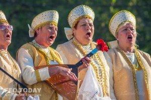 Первомайский концерт в Феодосии #9592