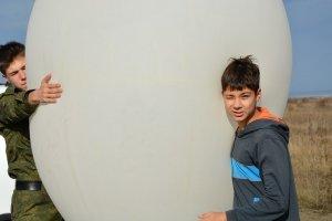 Фото соревнований по запуску парашютов в Феодосии #5316