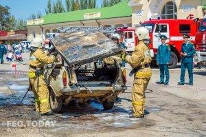 День пожарной охраны в Феодосии #8790