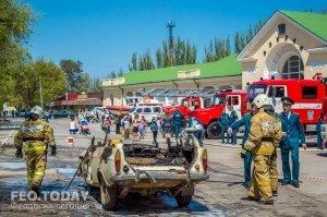 День пожарной охраны в Феодосии #8791