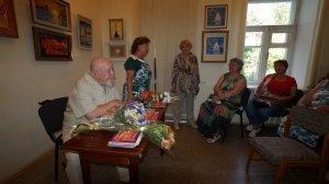 Фото открытия выставки МАЛЫШЕВА в музее ГРИНА #3419