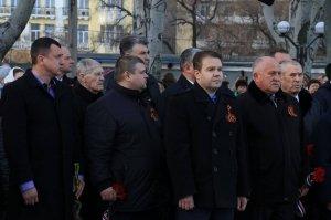 Фото митинга в память о Керченско-Феодосийском десанте #6480